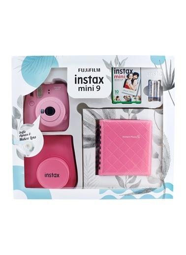 Fujifilm instax mini 9 Kit Açik Pembe Renkli